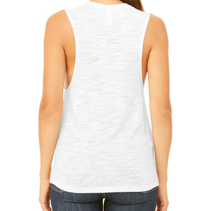 GLOBAL CITIZEN MUSCLE TANK WHITE