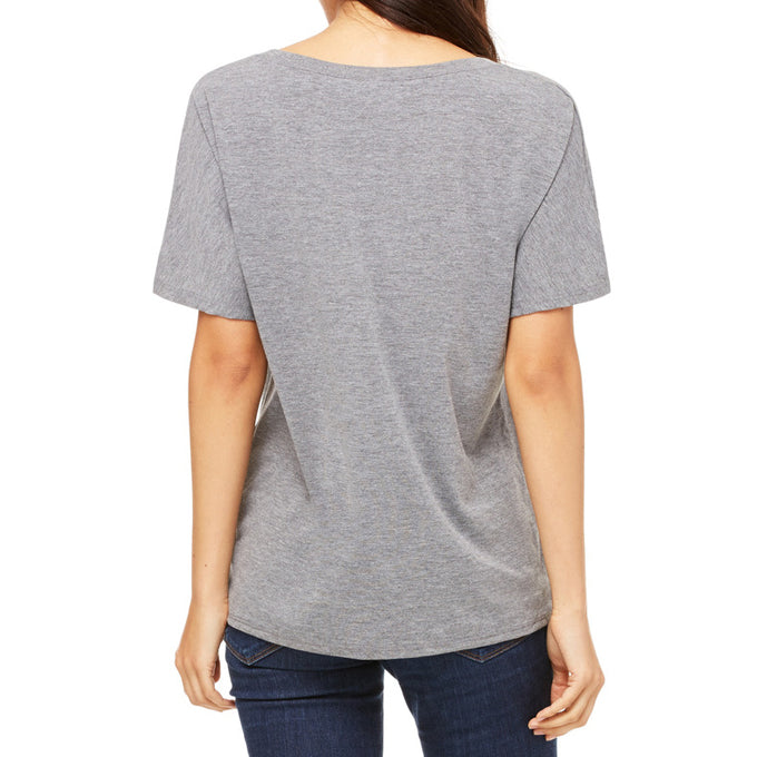 FIERCE AND FREE SLOUCHY V TEE