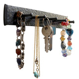 Decorative 5 Hooks Iron key holder for wall