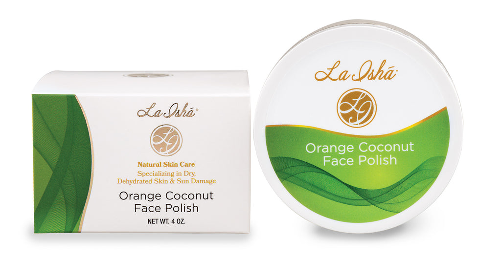 Orange Coconut Face Polish - La Ishá