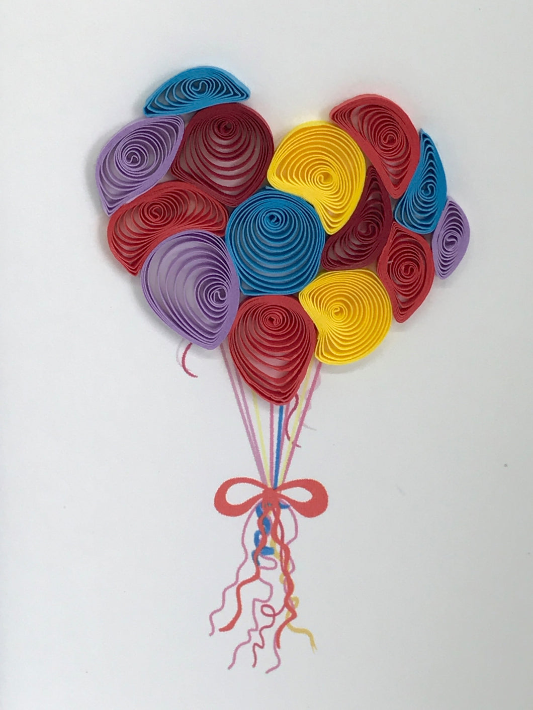 The Balloons Card