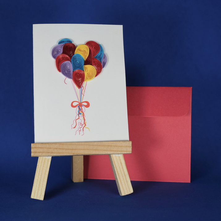 Balloon card from A Wish For You for a Wish Package