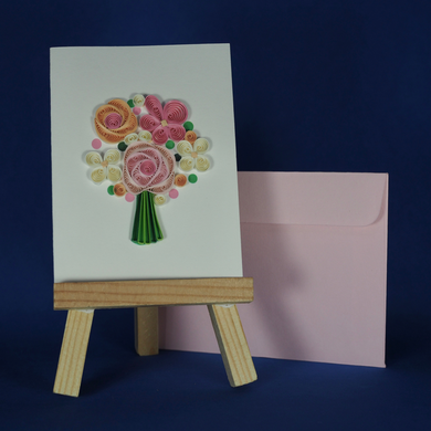 Flower Bouquet Card for A Wish For You Wish Package