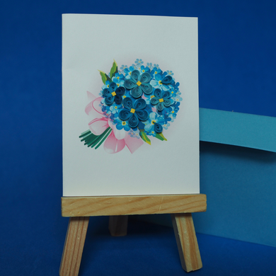 Blue Hydrangea Card for A Wish For You Wish Package