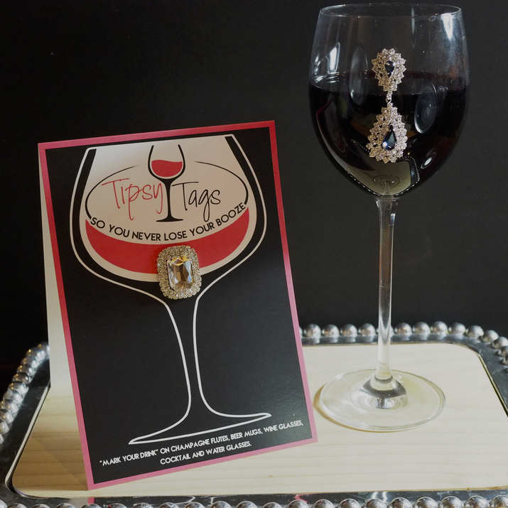Jeweled Wine Magnet, gift, a wish for you