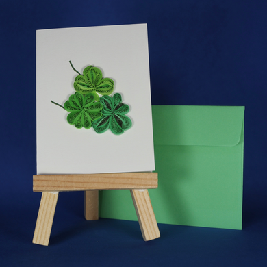 Four Leaf  Clover Card for A Wish For You Wish Package