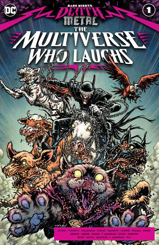 Dark Night's Death Metal: The Multiverse Who Laughs #1