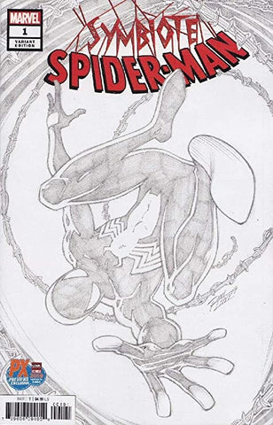 Symbiote Spider-Man #1 - Exclusive Ron Lim Sketch Cover