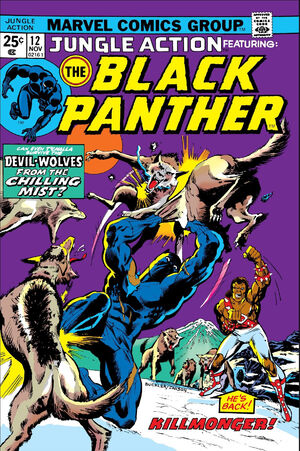 Jungle Action Vol.2 #12 - ft. The Black Panther