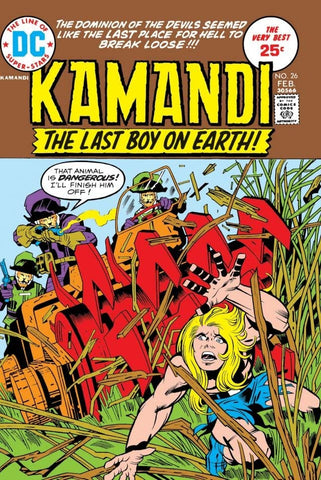 Kamandi: The Last Boy On Earth #26