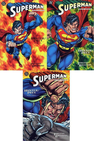 Superman / Doomsday : Hunter / Prey - SET, all three books #1-#3