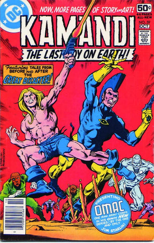 Kamandi: The Last Boy On Earth #59 (Final Issue)