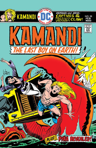 Kamandi: The Last Boy On Earth #38