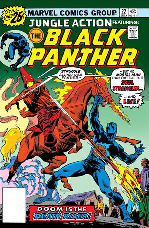 Jungle Action Vol.2 #22 - ft. The Black Panther