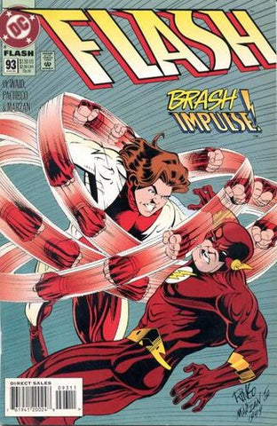 The Flash Vol.2 #93 (Key: 2nd App. of Impulse)