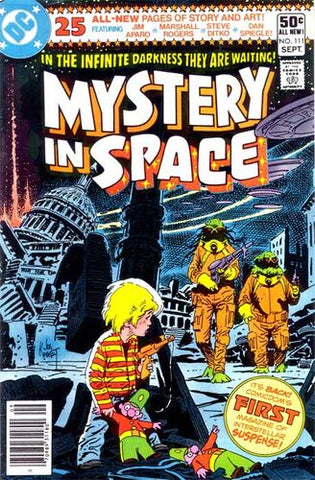 Mystery In Space #111 (Price Tag On Cover)