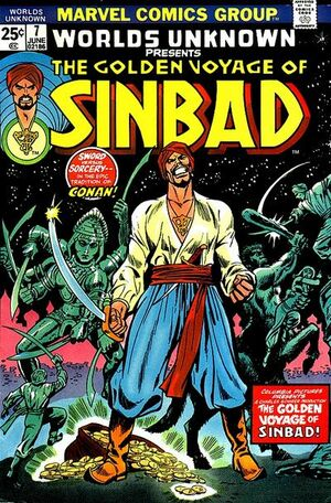 Worlds Unknown #7 : Golden Voyage Of Sinbad