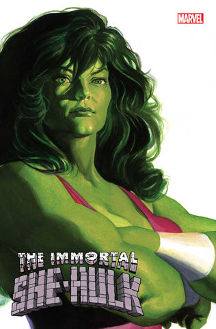 The Immortal She-Hulk #1 - Alex Ross Cover