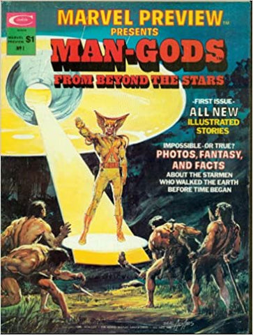 Marvel Preview Presents #1 : Man-Gods From Beyond The Stars