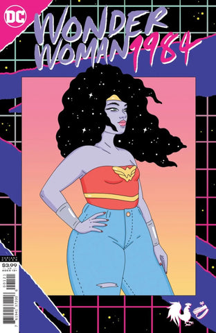 "Wonder Woman 1984 Vol.1 #1 - Variant ""Woke"" Cover"