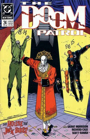 Doom Patrol Vol.2 #24 (Key: Death of Red Jack)