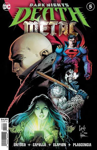 Dark Night's Death Metal #5