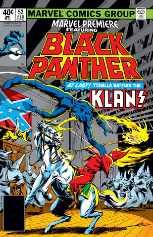 Marvel Premiere ft. Black Panther #52