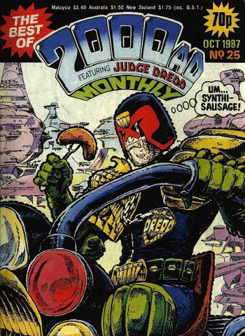Best Of 2000 AD ft. Judge Dredd Monthly (1987) #25