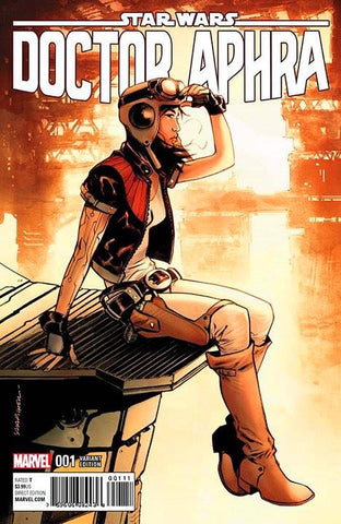 Star Wars: Dr Aphra #1 - Sara Pichelli Colour B&W Variant SET