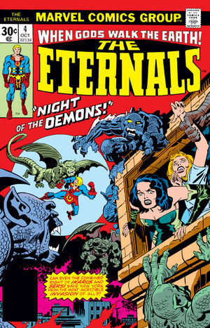 The Eternals Vol.1 #4 (Key: 1st Appearance of Gammenon the Gatherer)