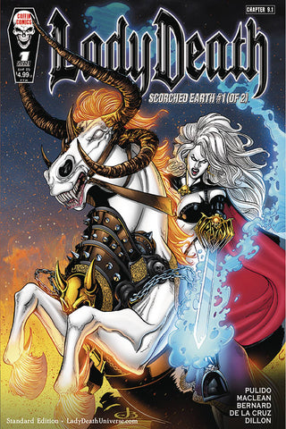 Lady Death : Scorched Earth #1 of 2