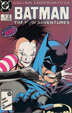 Batman Vol.1 #412 (Key: 1st Appearance of The Mime)