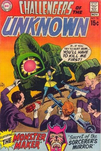Challengers Of The Unknown Vol.1 #76