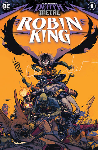 Dark Night's Death Metal : Robin King #1