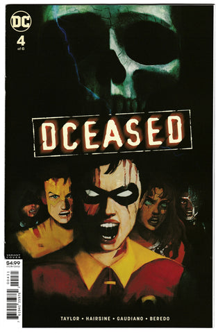 DCeased #4 - Cardstock Horror Variant