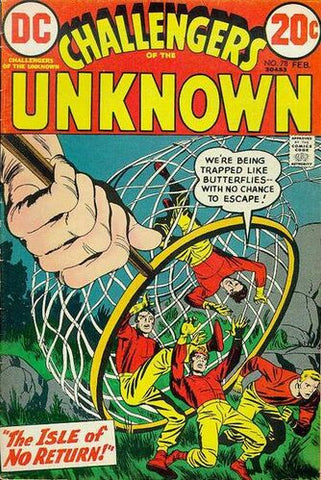 Challengers Of The Unknown Vol.1 #78