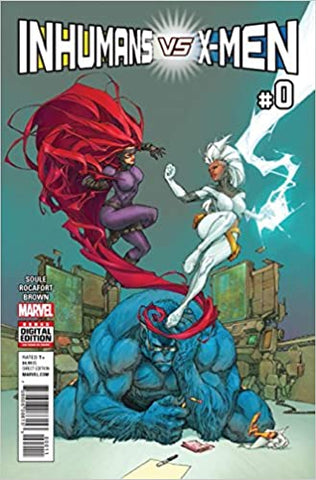 Inhumans Vs X-Men #0 to #6 (Full Set)