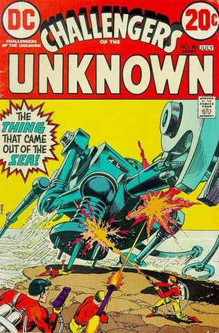 Challengers Of The Unknown Vol.1 #80