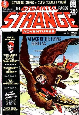 Strange Adventures #231 (Gigantic)