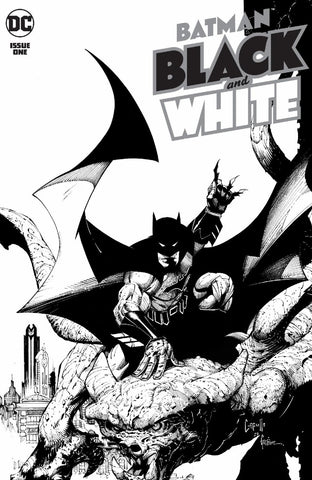 Batman: Black And White #1 - Cardstock Cover