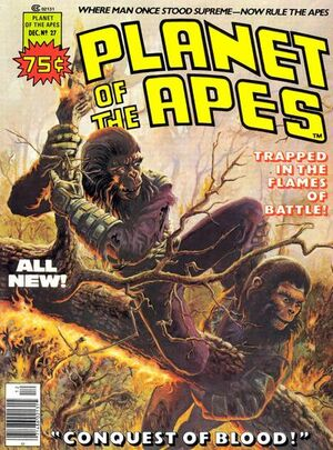 Planet of the Apes (1976 Marvel Magazine) #27