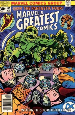 Marvel's Greatest Comics : Fantastic Four #67