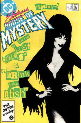 Elvira's House Of Mystery Vol.1 #9