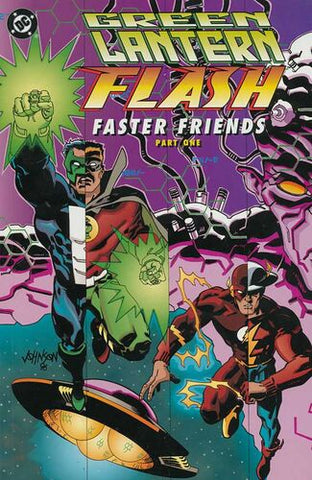 Green Lantern/Flash: Faster Friends #1 and #2 TPB