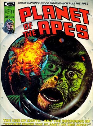 Planet of the Apes (1974 Marvel Magazine) #12