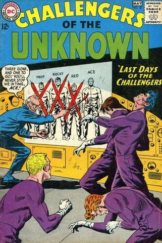 Challengers Of The Unknown Vol.1 #37