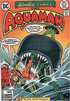 Adventure Comics #449 - Starring Aquaman