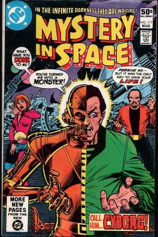 Mystery In Space #117