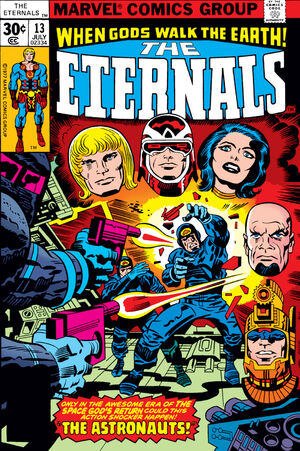 The Eternals Vol.1 #13 (Key: 1st Appearance of Gilgamesh & One Above All)