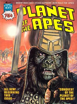 Planet of the Apes (1976 Marvel Magazine) #17